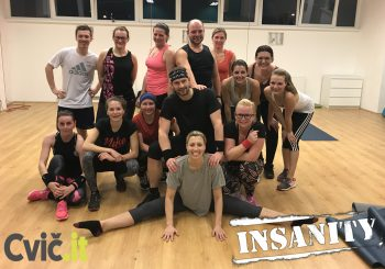 INSANITY Live round 29 ve studiu Cvič.it