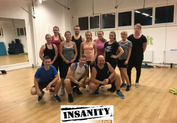 INSANITY Live ve studiu Cvič.it